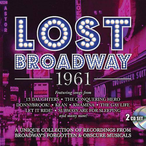 PID Lost Broadway 1961: Broadway's Forgotten & Obscure [CD] USA import