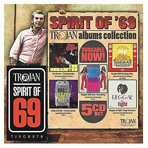 Unbranded Spirit Of 69: The Trojan Albums Collection / Var [CD] USA import