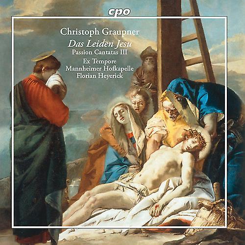 CPO Passion Cantatas 3 [CD] Usa import