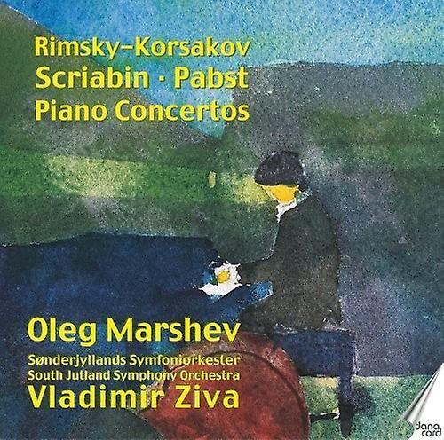 Unbranded Trois Concertos pour piano russes [CD] Usa import