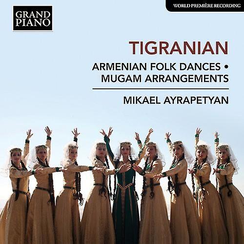 Grand Piano Folkdances arméniennes / Mugam Arrangements [CD] Usa import