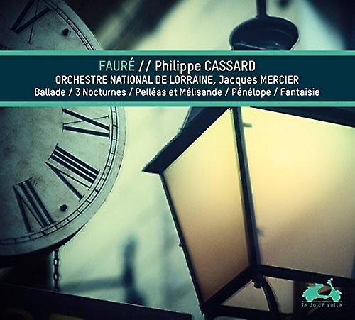 Unbranded Faurr / Cassard, Philippe - Piano Music - Ballade & Nocturnes & Pelles Et [CD] USA import