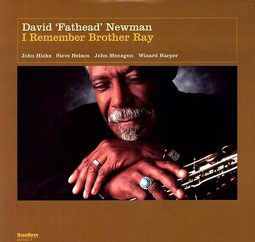 HIGHNOTE David « Fathead » Newman - I Remember Brother Ray [Vinyl] USA importation