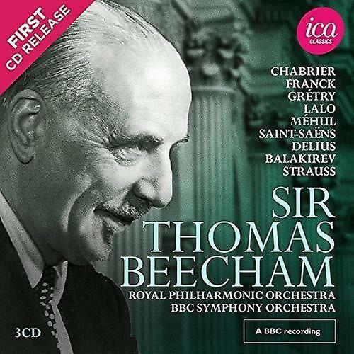 ICA CLASSICS Sir Thomas Beecham 2 [CD] Usa import