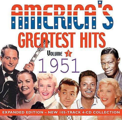 Unbranded America-apos;s Greatest Hits 1951 [CD] Usa import