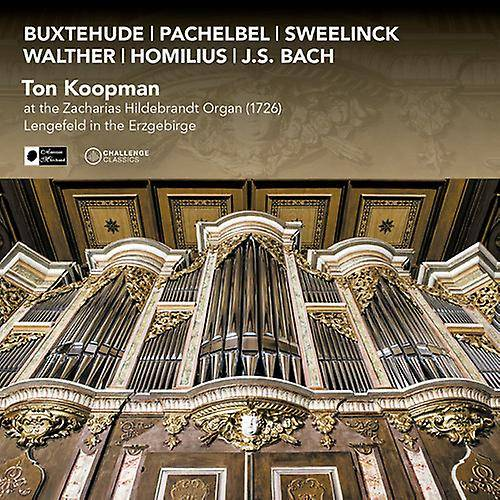 Unbranded Ton Koopman - Ton Koopman, à l'importation [CD] USA (1726) de Zacharias Hildebrandt Organ