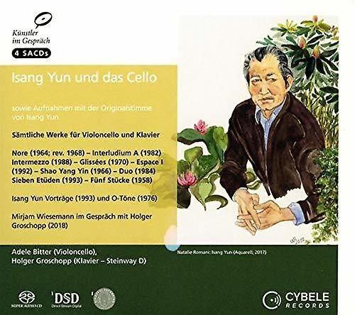 CYBELE Isang Yun & Cello [SACD] Usa import