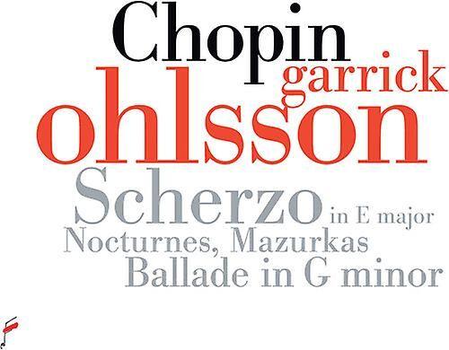 FRYDERYK CHOPIN SOCIETY Scherzo In E Major [CD] Usa import