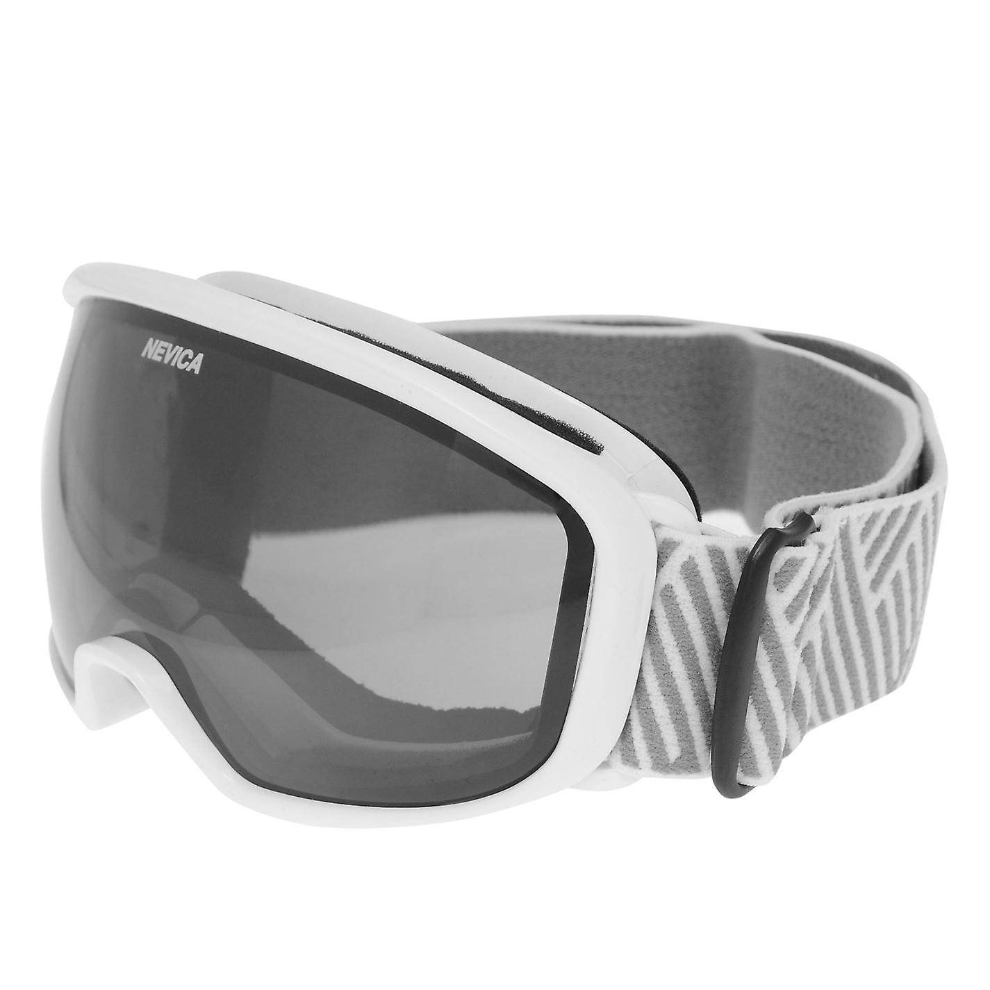 Nevica Femmes Arctic Ski Goggles Dames UVB Protection Sports d'hiver Blanc One Size