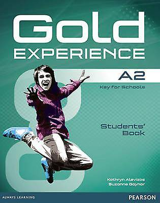 Gold Experience A2 Students Book with DVDROM Pack par Alevizos & KathrynGaynor & Suzanne
