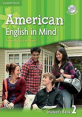 American English in Mind Level 2 Students Book with DVDROM par Puchta & HerbertStranks & Jeff