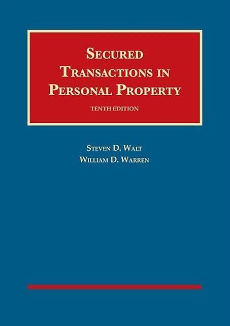 Transactions sécurisées en biens personnels par Walt & Steven D.Warren & William D.