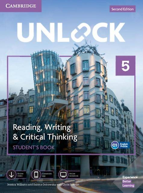 Unlock Level 5 Reading Writing amp Critical Thinking Students Book Mob App and Online Workbook w Downloadable Video by Jessica Williams & Sabina Os...