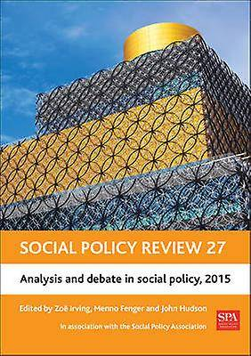 Social Policy Review 27 par Zoe Irving