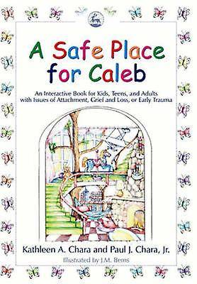 A Safe Place for Caleb An Interactive Book for Kids Teens and Adults with Issues of Attachment Grief Loss or Early Trauma par Paul J Chara et Kathl...