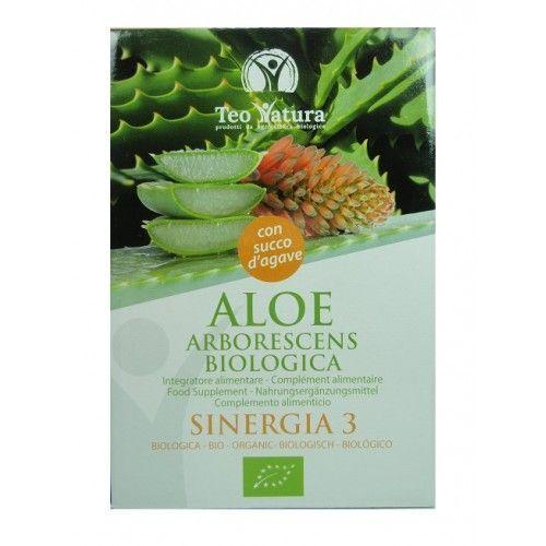 Teo Natura Aloé arborescens Bio au jus d'agave - 500 ml - Teo Natura