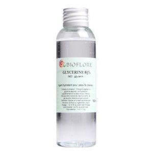 Bioflore Glycérine végétale 98-101% - Pour adoucir votre peau et vos cheveux 100 ml - Bioflore