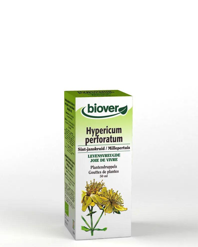 Biover Millepertuis Bio - Déprime Teinture-mère d'Hypericum perforatum 50 ml - Biover
