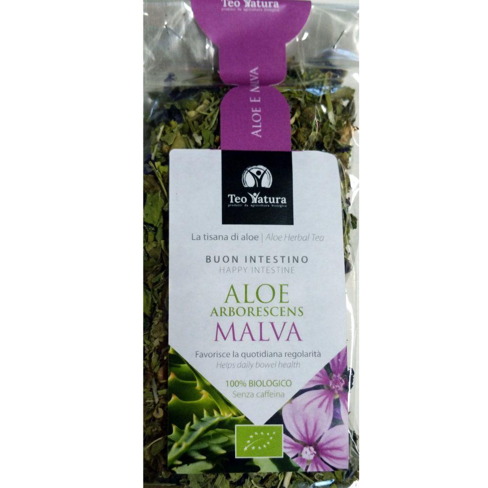 Teo Natura Aloe arborescens et Mauve Bio - Digestion - 50 g Teo Natura
