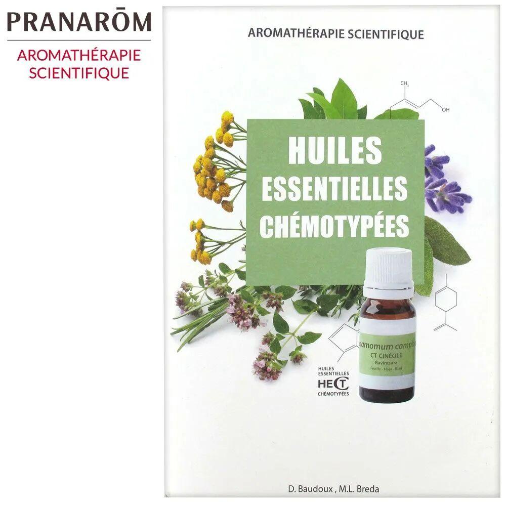 Livres Huiles Essentielles Chémotypées - 98 pages - Dominique Baudoux, M.L. Breda