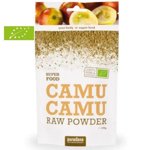 Purasana Camu camu en poudre Bio - Vitamine C et Phytonutriments SuperFoods 100g - Purasana