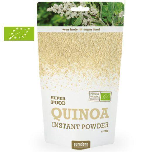 Purasana Quinoa en poudre Bio - Protéines & Satiété 200g - Purasana