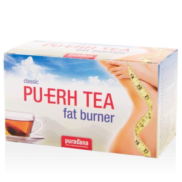 Purasana Pu-Erh Tea - Brûleur de graisses 20 infusettes - Purasana
