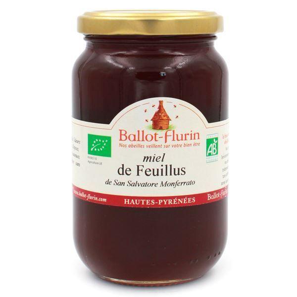 Ballot-Flurin Miel de Cicadelle et de Feuillus Bio 480g - Fruits secs, Épices & Figuiers - Ballot-Flurin