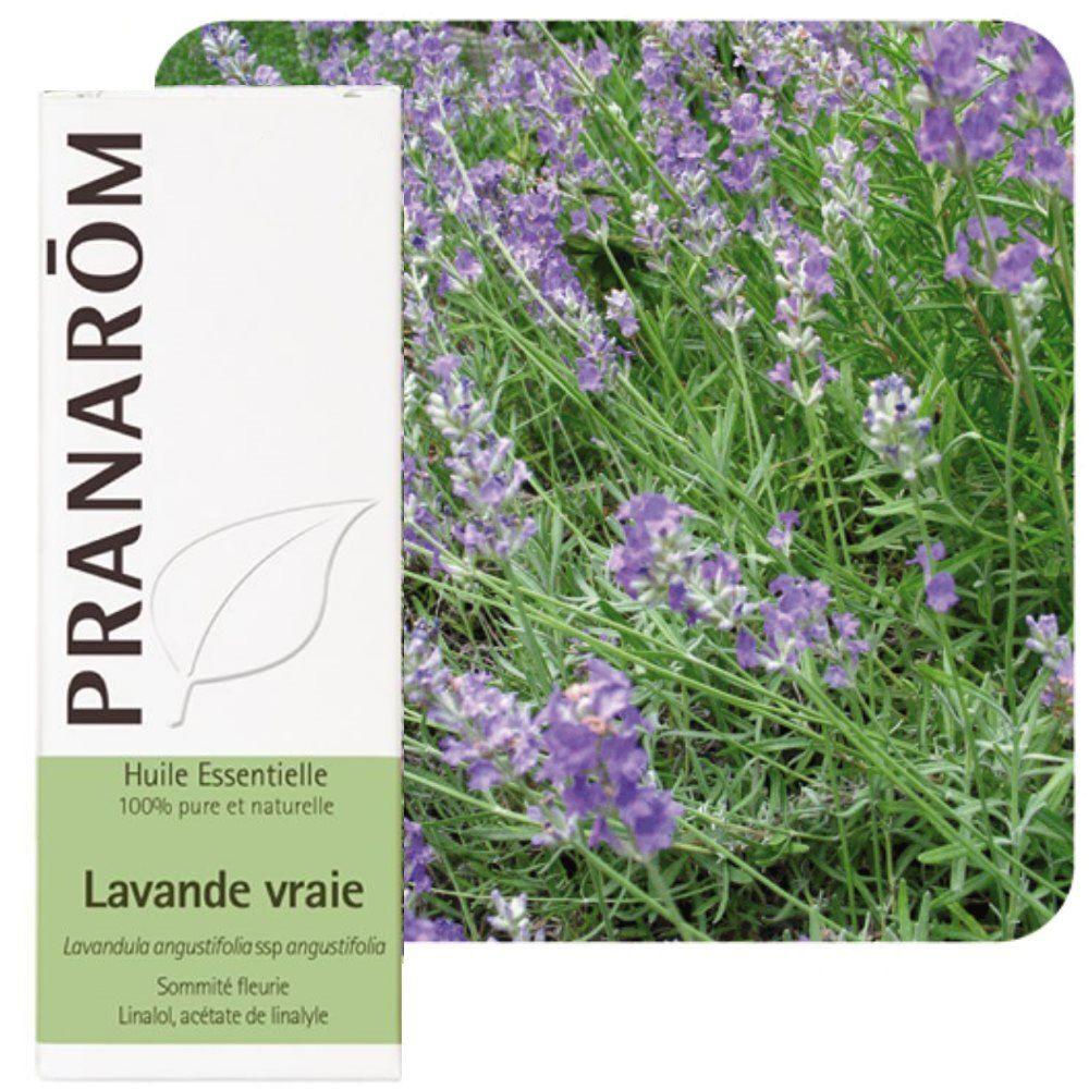 Pranarôm Lavande vraie - Huile essentielle Lavandula angustifolia 10 ml - Pranarôm