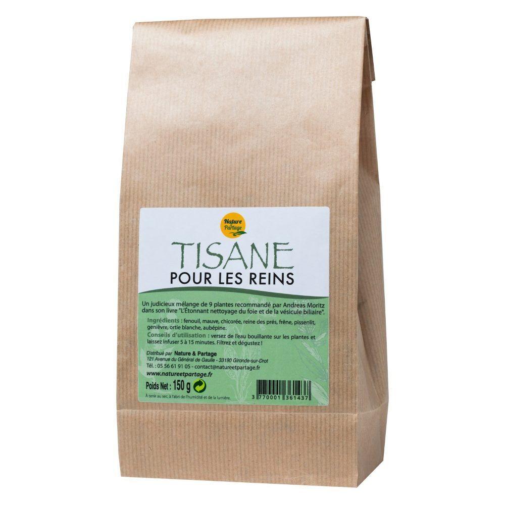 Nature et Partage Tisane pour les reins - Tisane 150 grammes - Nature et Partage