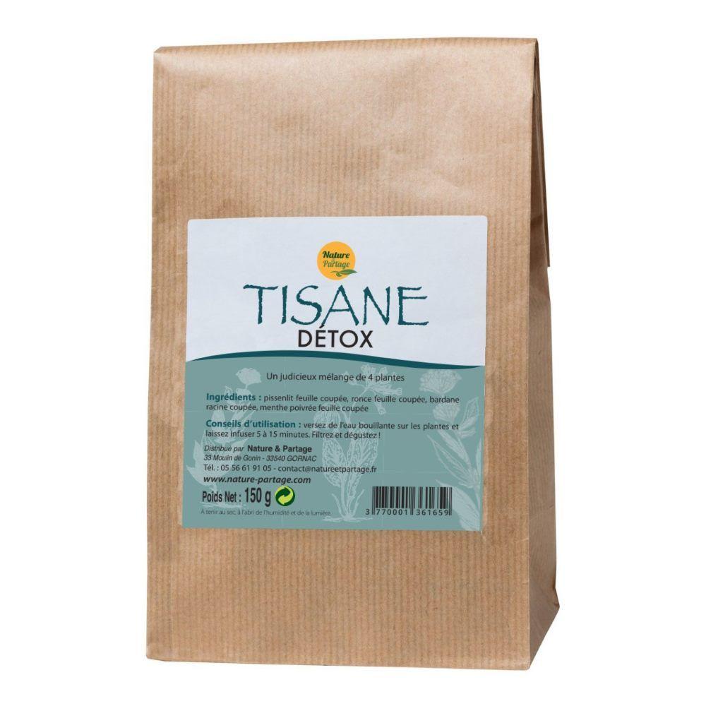 Nature et Partage Tisane Detox - Tisane 150 grammes - Nature et Partage