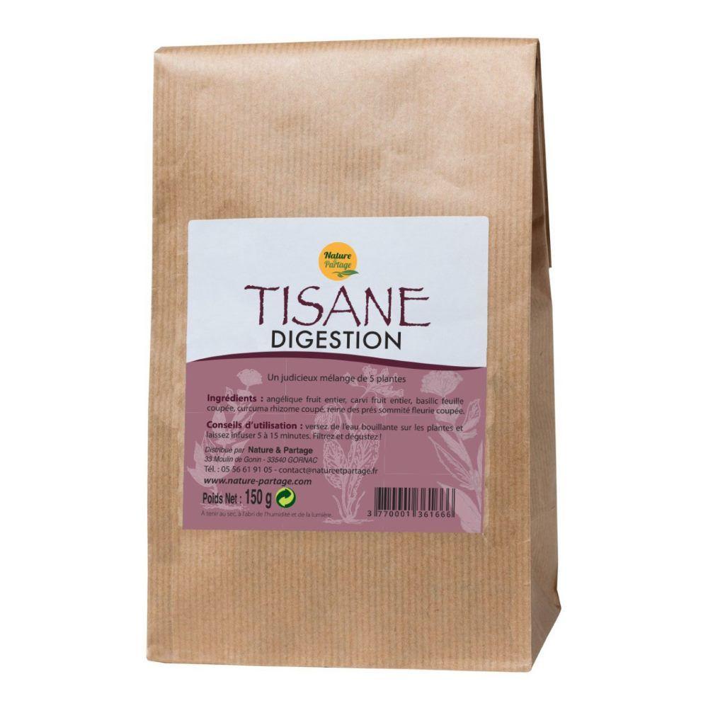 Nature et Partage Tisane Digestion - Tisane 150 grammes - Nature et Partage