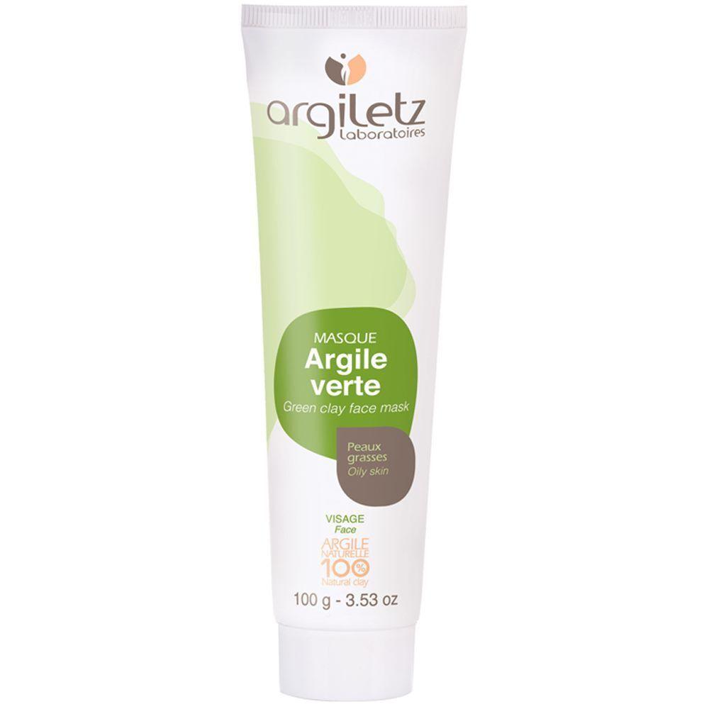 Argiletz Masque à l'argile verte - Peaux grasses 100ml - Argiletz