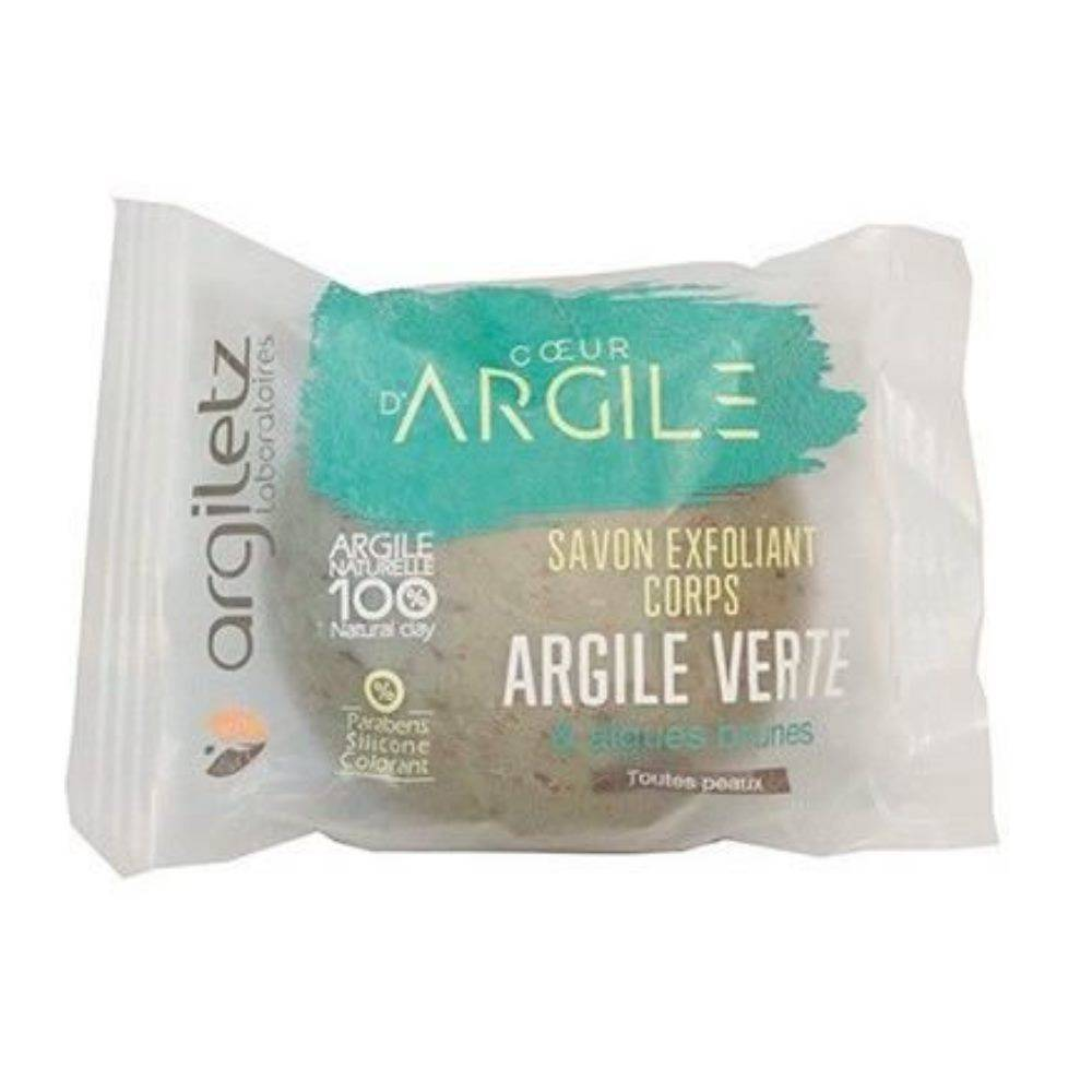 Argiletz Savon purifiant - Argile verte, parfum Cologne, 100g - Argiletz