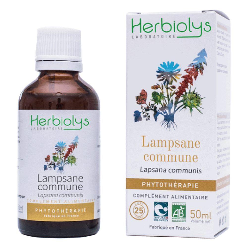 Herbiolys Lampsane commune - Allaitement Teinture-mère Lampsana communis 50 ml - Herbiolys