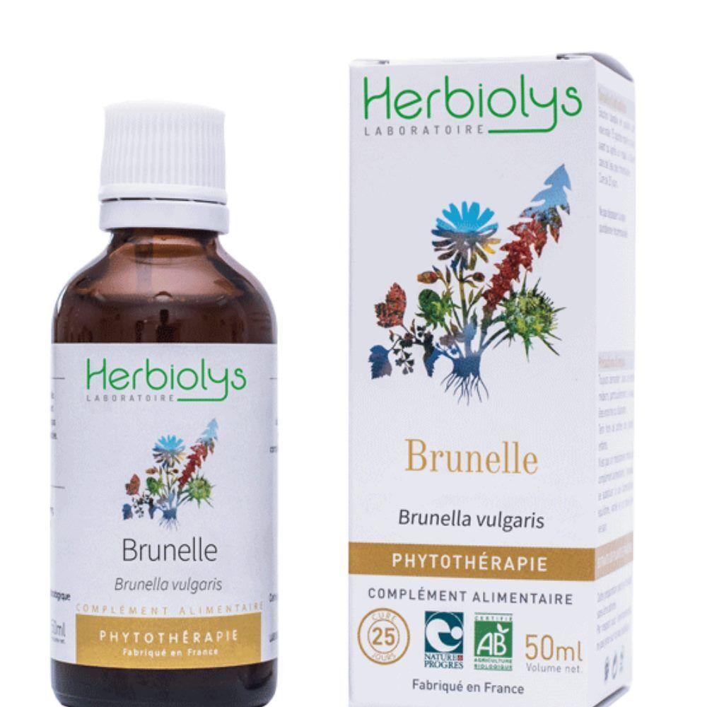 Herbiolys Brunelle - Sang & Peau -Teinture-mère Prunella vulgaris 50 ml - Herbiolys