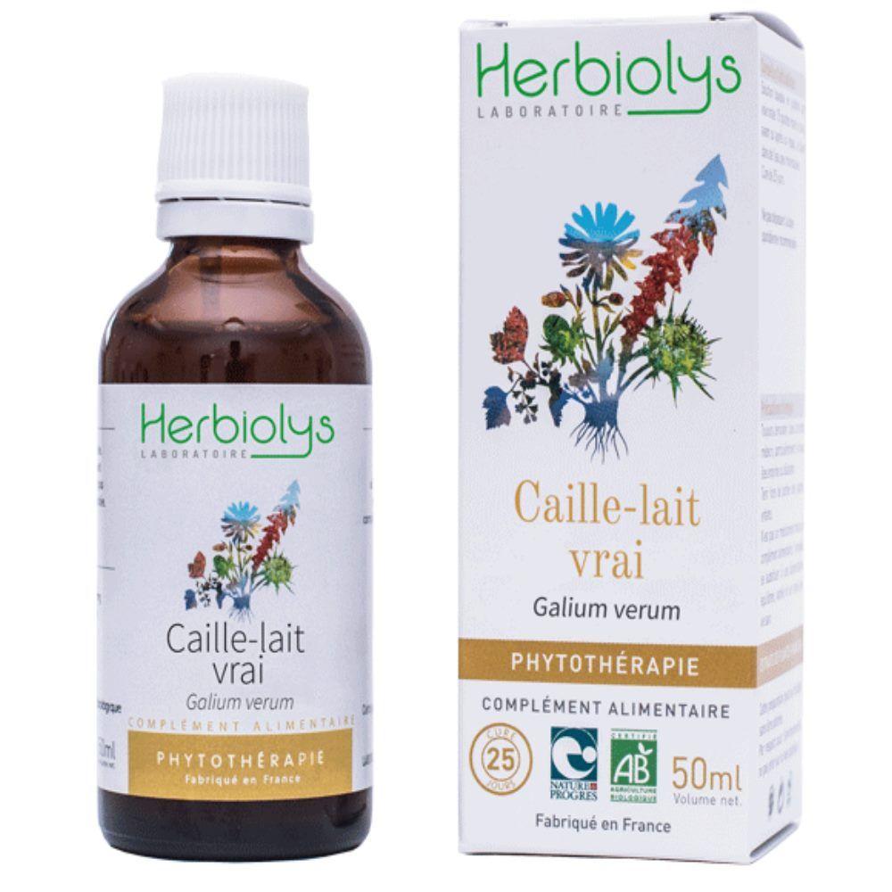 Herbiolys Caille-lait vrai - Diurétique Teinture-mère Galium verum 50 ml - Herbiolys
