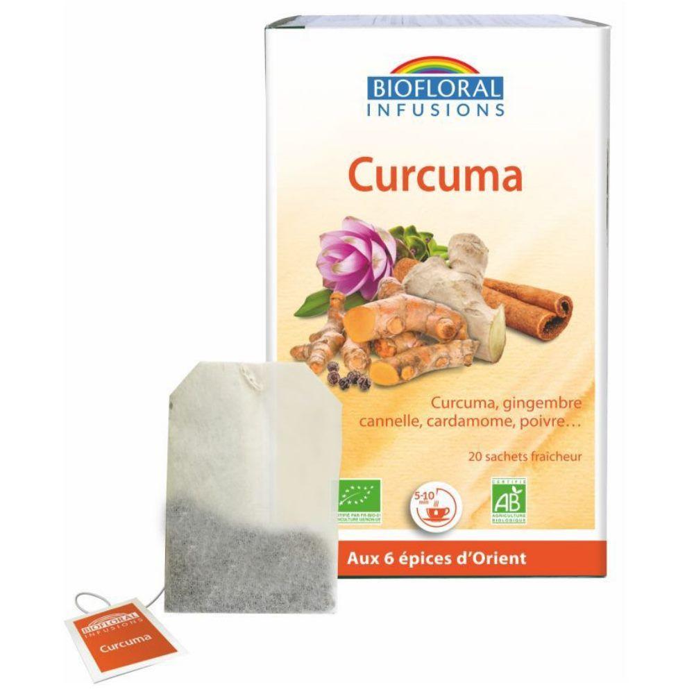 Biofloral Curcuma Bio Antioxydant 20 infusettes - Biofloral