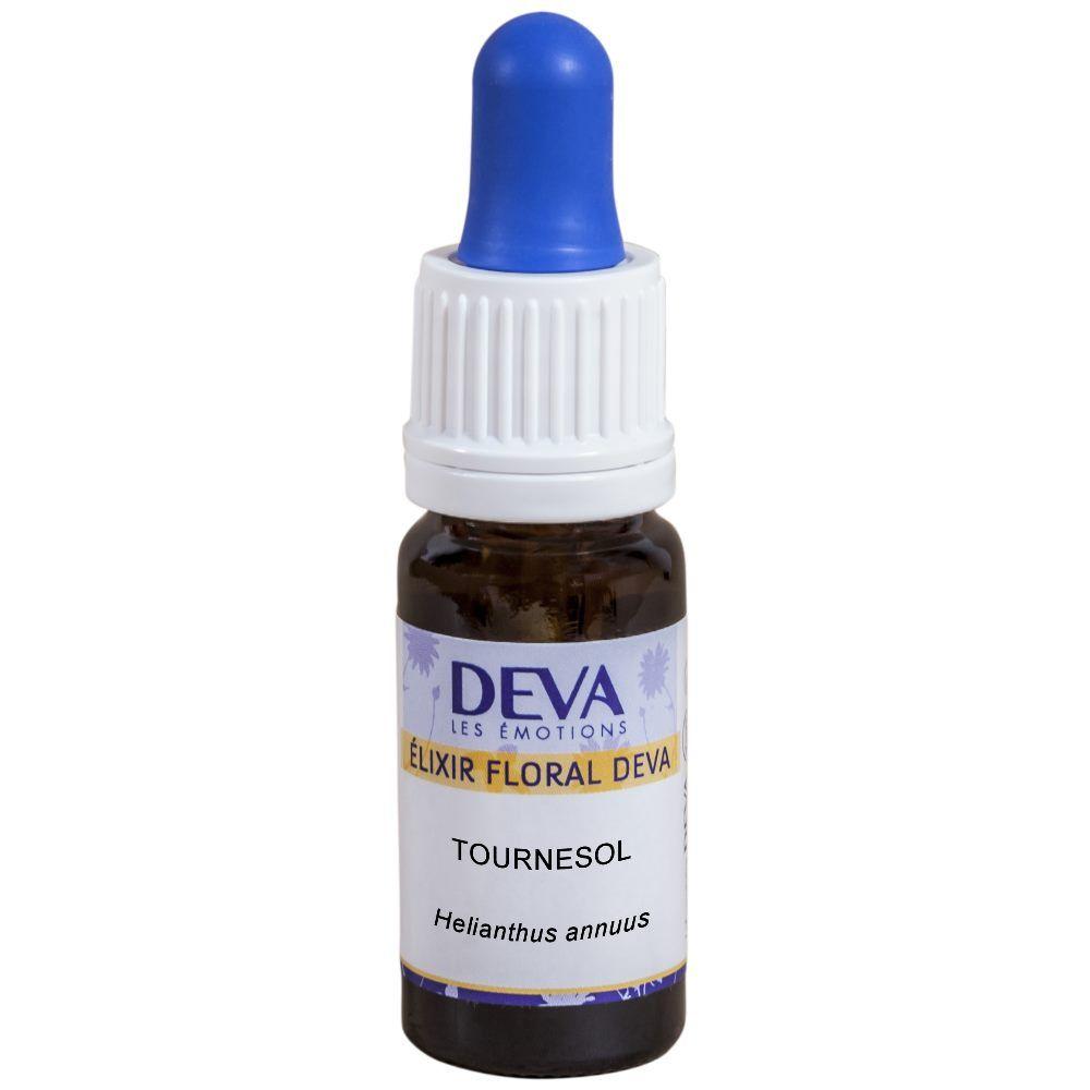 Deva Tournesol Bio - Expression de soi équilibrée Elixir floral 10 ml - Deva