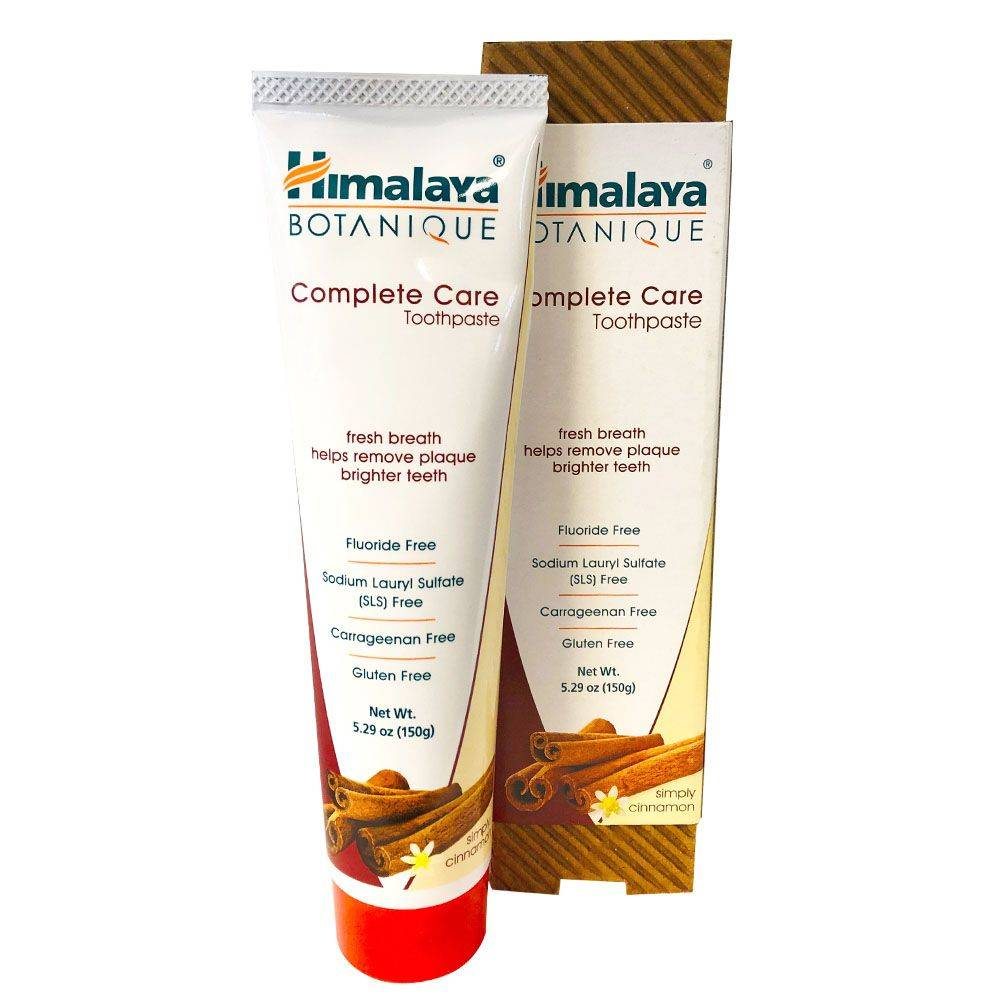 Himalaya Dentifrice Organique Complete Care Cannelle 150 g - Himalaya