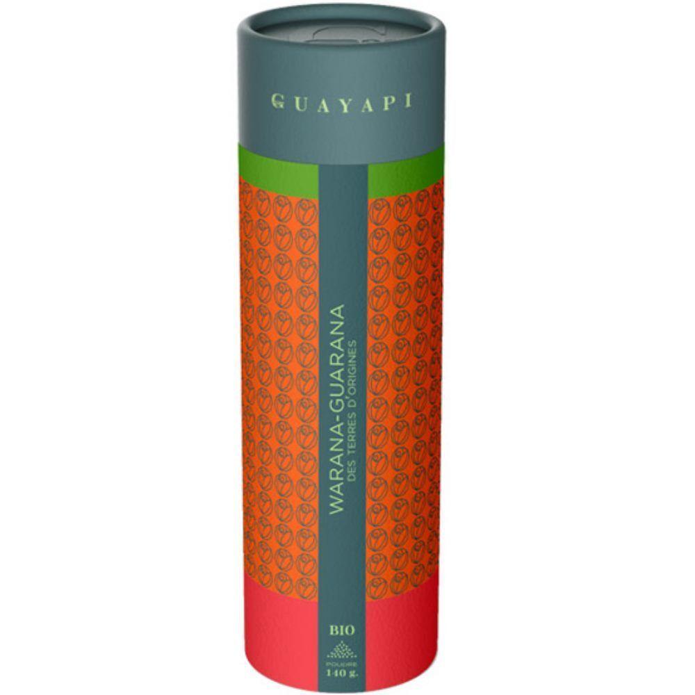 Guayapi Warana, Guarana d'origine Bio - Tonus et vitalité poudre 140 g - Guayapi