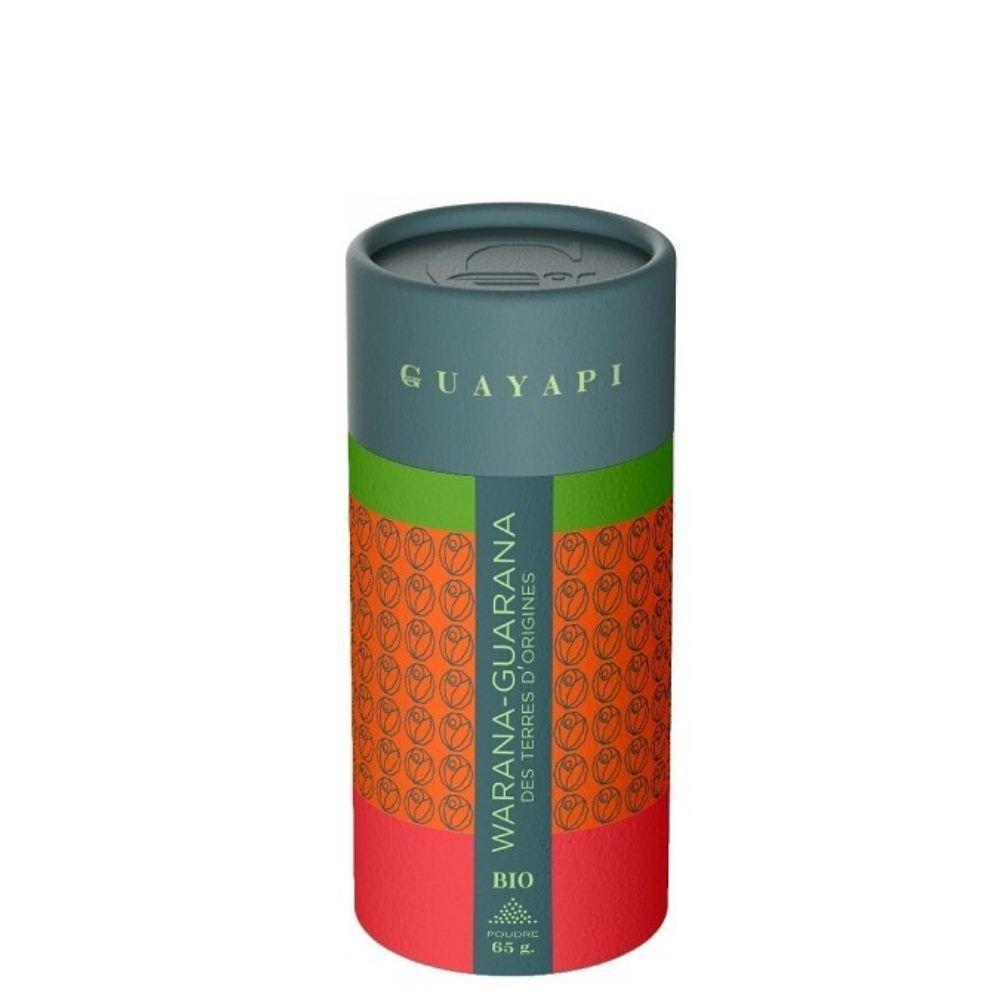 Guayapi Warana, Guarana d'origine Bio - Tonus et vitalité poudre 65 g - Guayapi