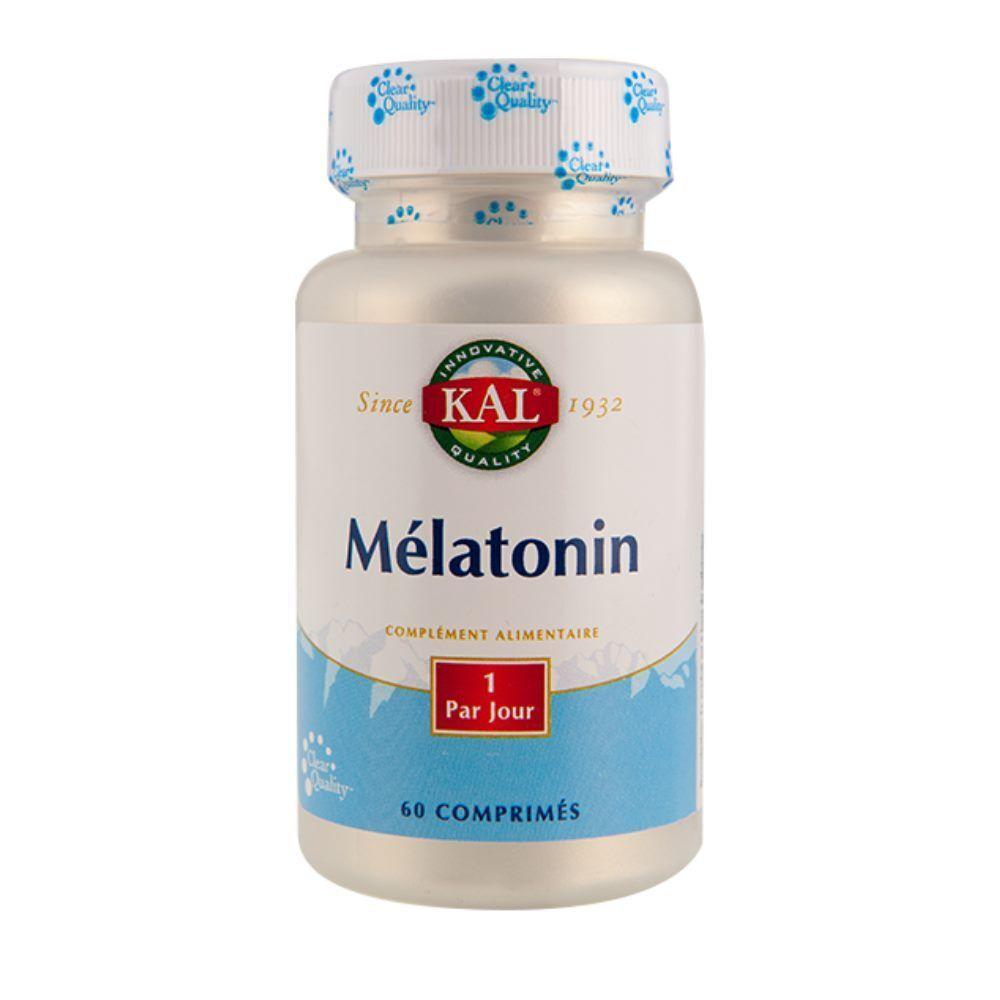 Kal Mélatonine 1 mg - Sommeil 60 comprimés - KAL