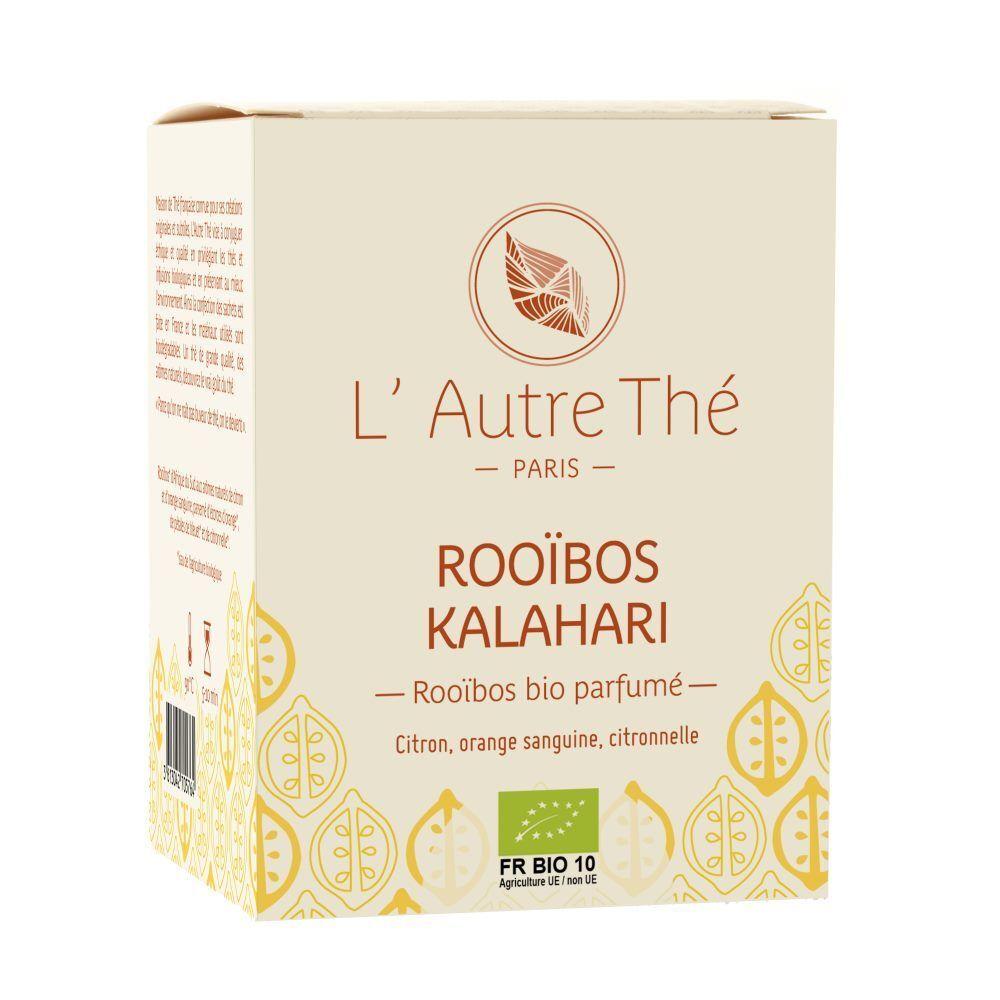 L'Autre Thé Kalahari Bio - Rooïbos à l'orange sanguine et au citron 20 sachets pyramide - L'Autre thé