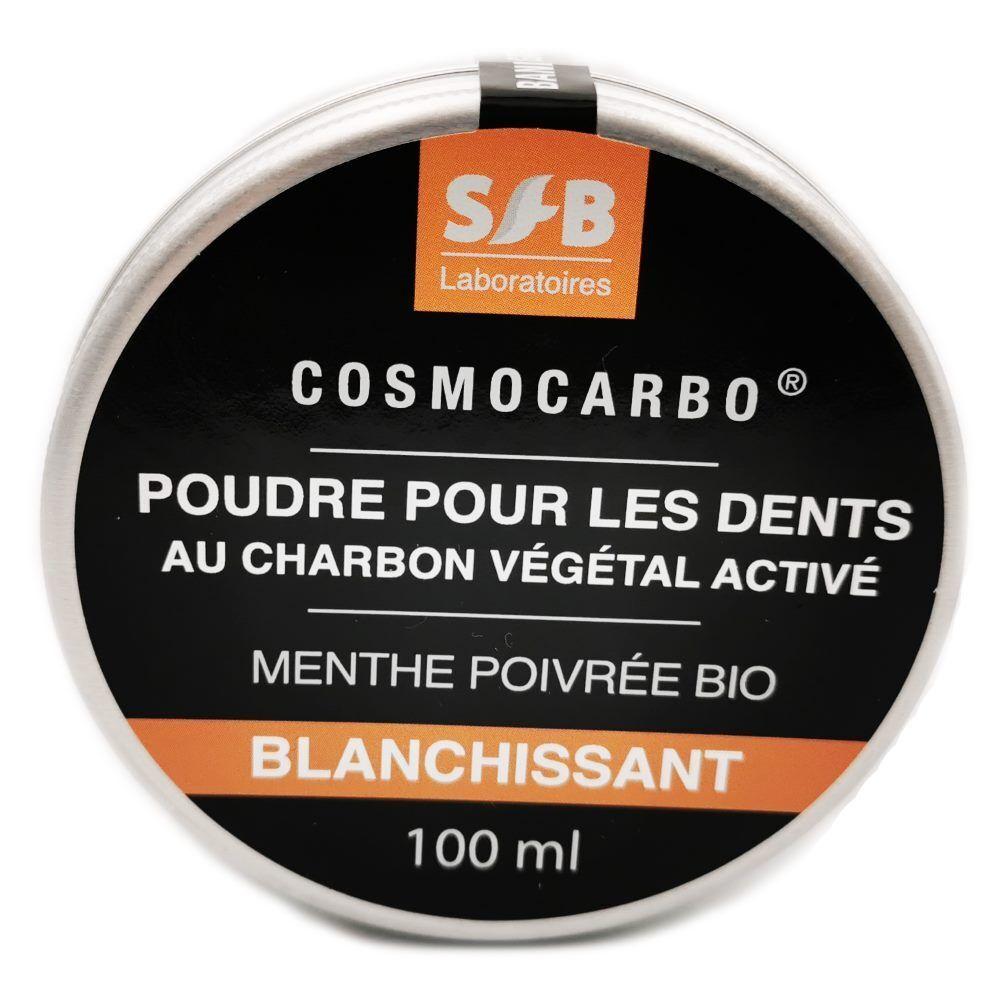 SFB Laboratoires Cosmocarbo - Poudre blanchissante pour les dents 100 ml - SFB Laboratoires