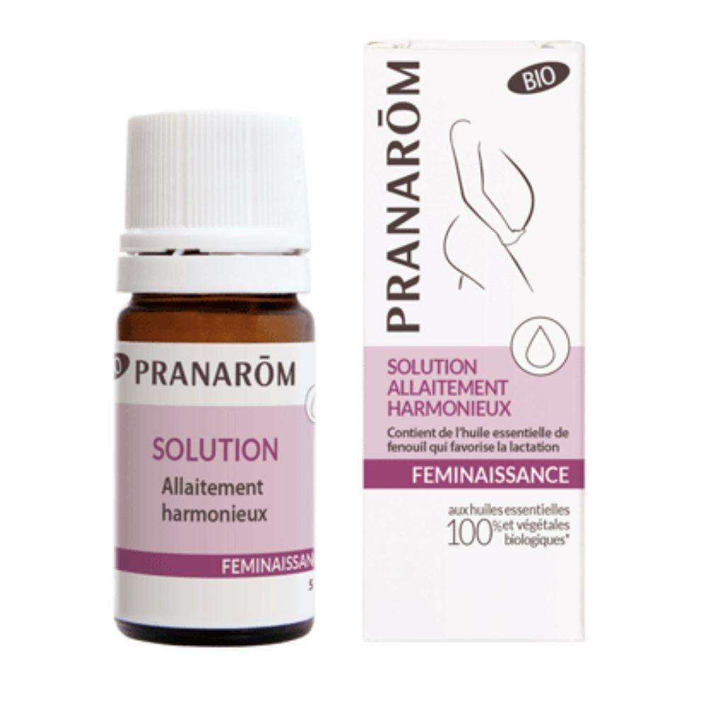 Pranarôm Allaitement harmonieux – Huile essentielle – Pranarôm