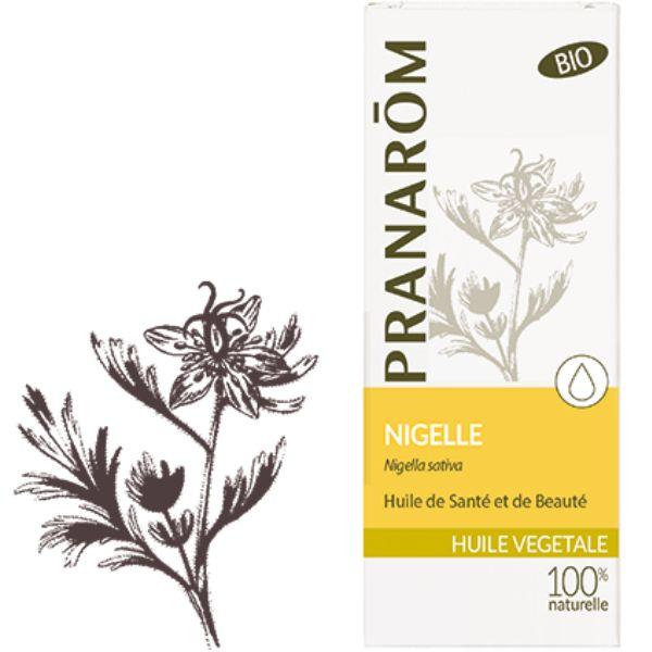 Pranarôm Nigelle Bio - Huile végétale Nigella sativa 50 ml - Pranarôm