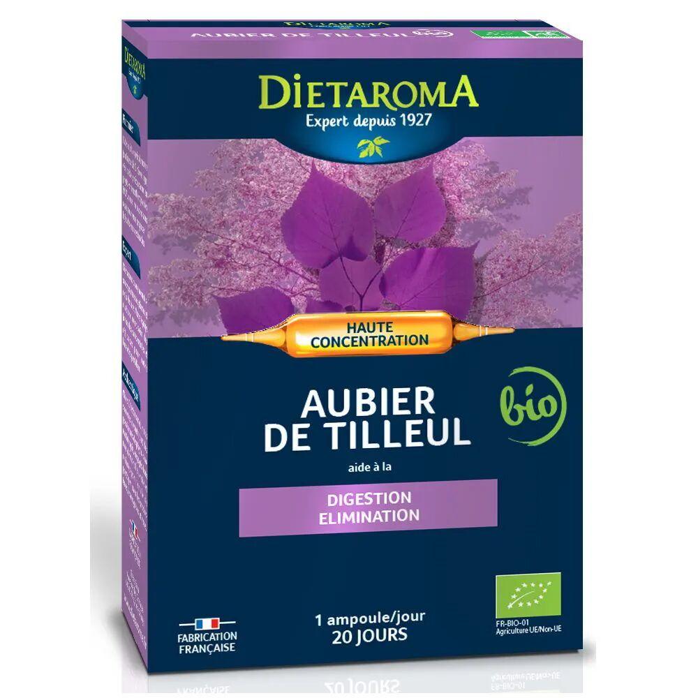Dietorama C.I.P. Aubier de Tilleul Bio - Digestion et Elimination 20 ampoules - Dietaroma