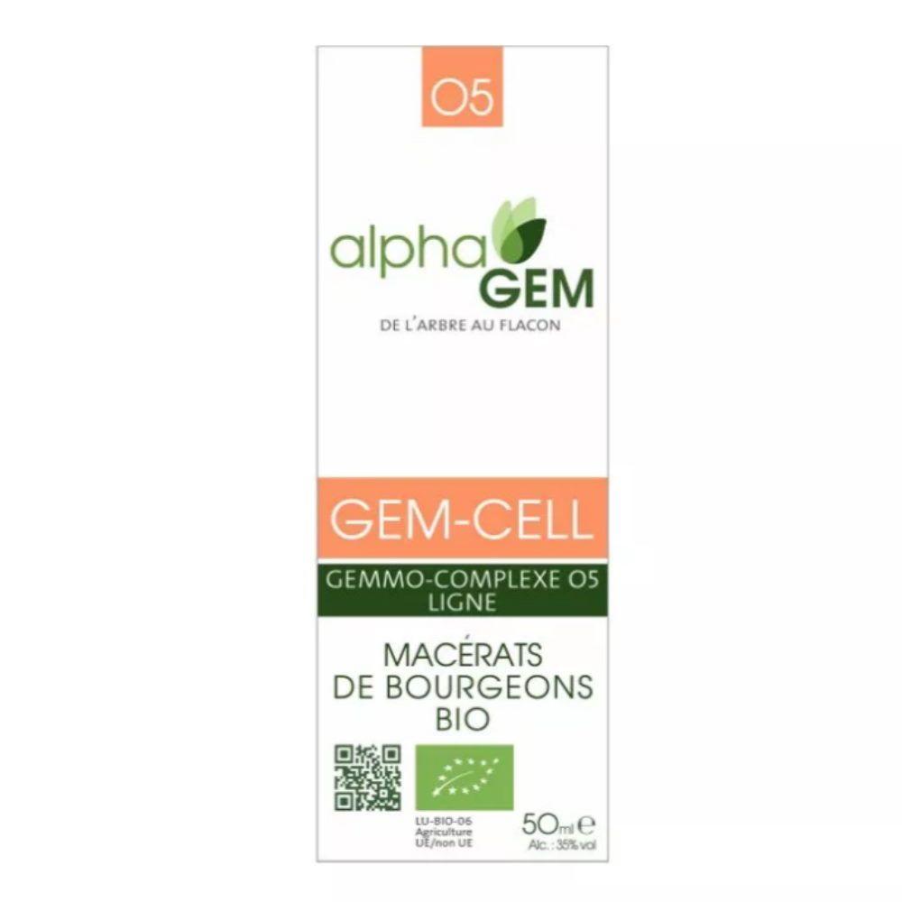AlphaGEM Gem-Cell Complexe n°05 Bio - Ligne 50 ml - Alphagem