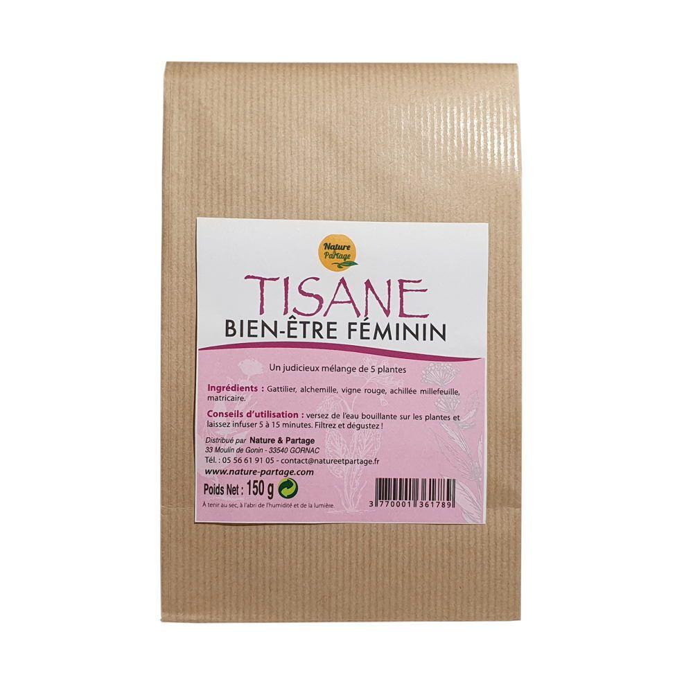 Nature et Partage Tisane Bien-être féminin - Tisane 150 grammes - Nature et Partage